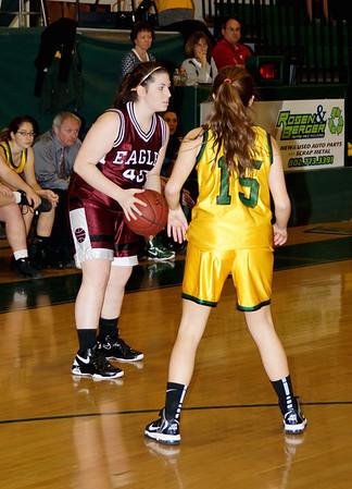 2012 AMHS Girls Basketball vs W.R. photos by Terry