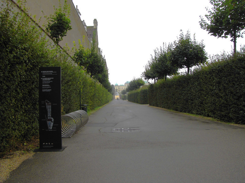 12-View from lower gate to Upper Belvedere Palace