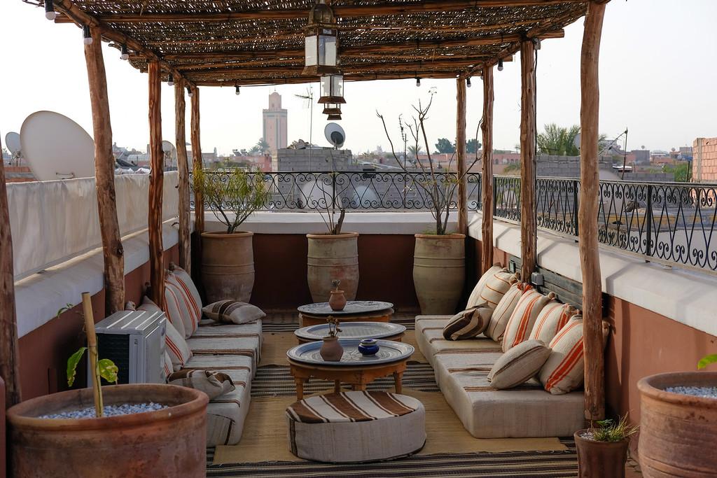 Riad Yasmine Rooftop Area