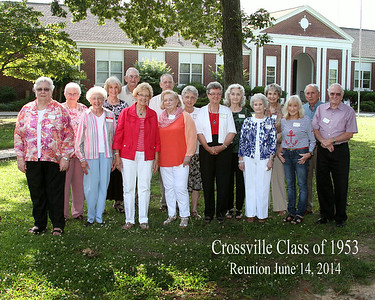 Crossville Class of 1953 Reunion