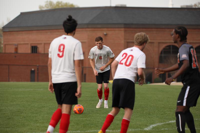 Men's Soccer vs. Milligan College (Spring 2019)