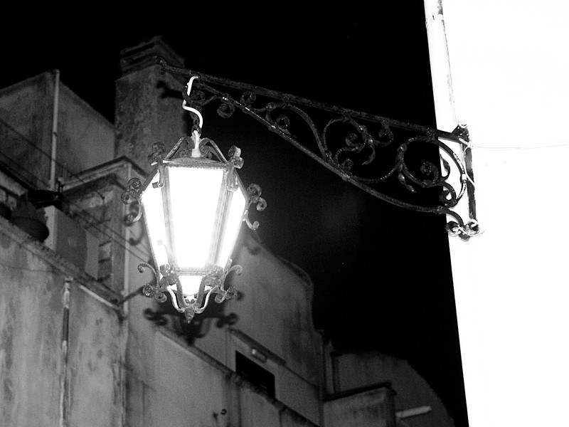 Street Light in Martina Franca