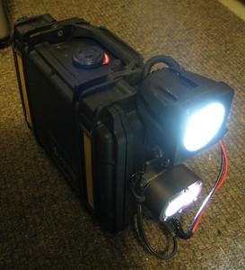 Pelican Case Emergency Light