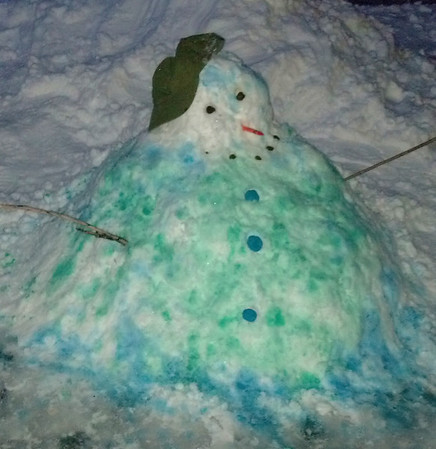 Melted Snowman, Submitted, Tamaqua (12-29-2012)
