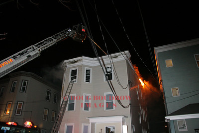 Somerville, MA - 3rd Alarm, 36 Lincoln Parkway, 2-16-08