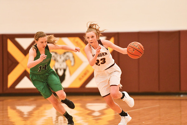 Big Horn Girls vs. Moorcroft Friday, Jan. 18, 2019