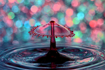 Bokeh Splash