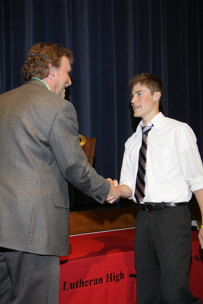 Awards Night 2012 - Golden Duct Tape Award (World of Technology Student of the Year)