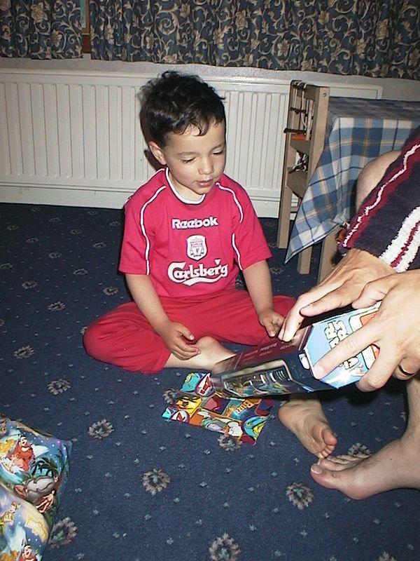 Thomas - 4th Birthday