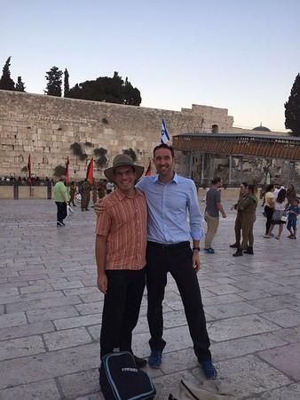 Marco & Julien Israel Visit 2016
