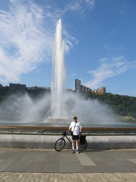 Tour of Pittsburgh by bike, Aug 28, 2016