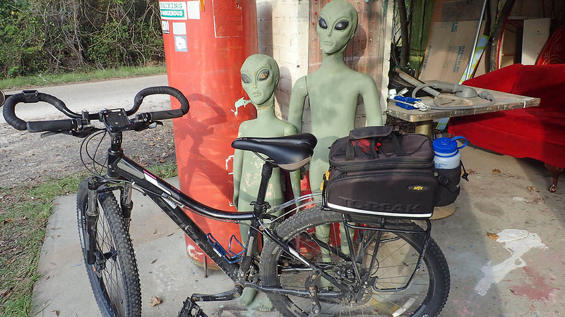 Trek Sky and Louisiana space aliens