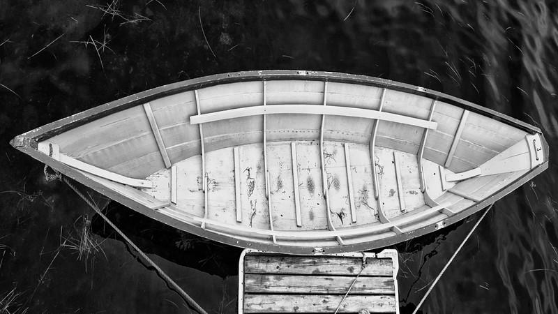 Dory at dock