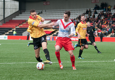 Airdrie v Partick Thistle (1.2) 13 4 13