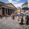 Sharing the Gospel at the Pantheon, Rome, Italy