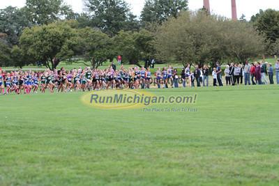 Girls (High School) Green Division Race