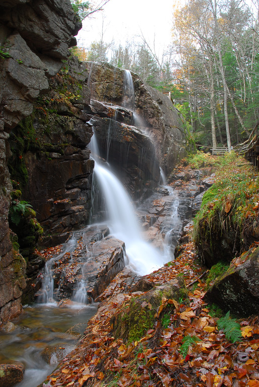 Avalanche Falls in Franconia Notch