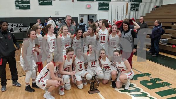 3-8-19 Grass Lake vs. Michigan Center Girls District Final
