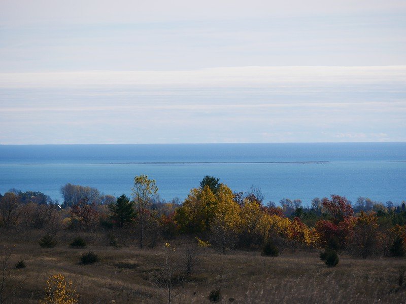 Looking out toward Lake Ontario from Trent Valley Road