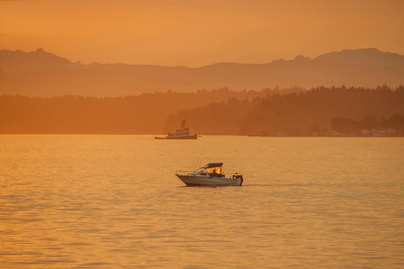 Commencement Bay Sunrise, Tacoma, Wa