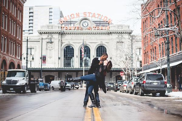 Heidi & Jesse | Downtown Denver
