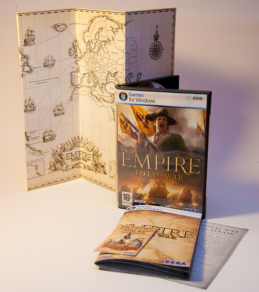 Empire: Total War box for Ukraine