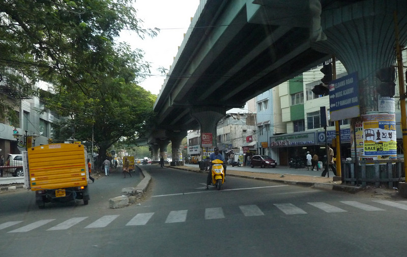 The new Flyover (aka raised roadway or overpass)