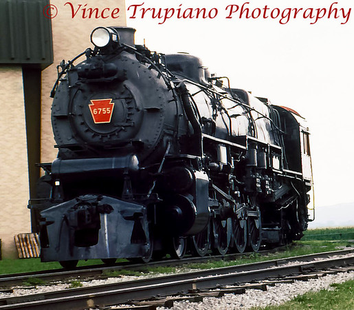 Strasburg Railroad and the PRR Museum in Strasburg, Pa - 1990 & 1993