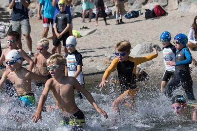 Lake Tahoe Splash and Dash Youth Aquathon