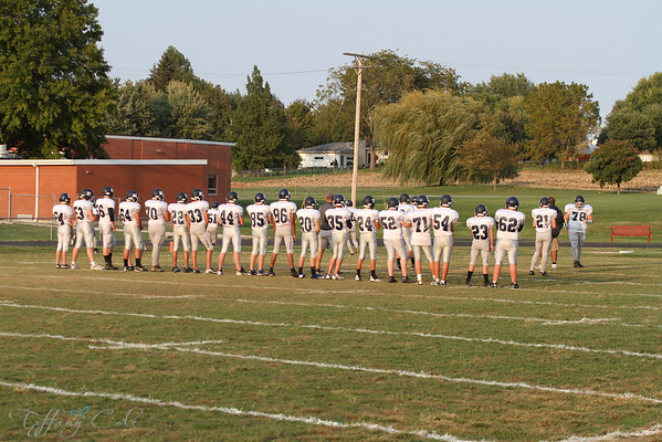 JV Titans vs Pittsfield  9/24/12