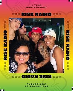 Rise Radio 2 Year Anniversary