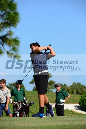 Boys Golf 9-25-18