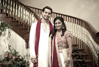 Rima & Patel engagement party