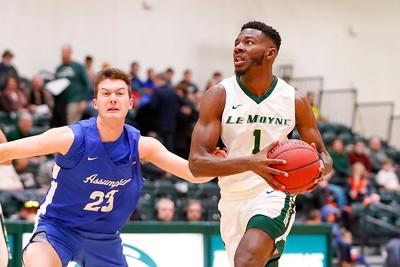 NCAA MHoop: Assumption at Le Moyne (1st half); 2/2/19