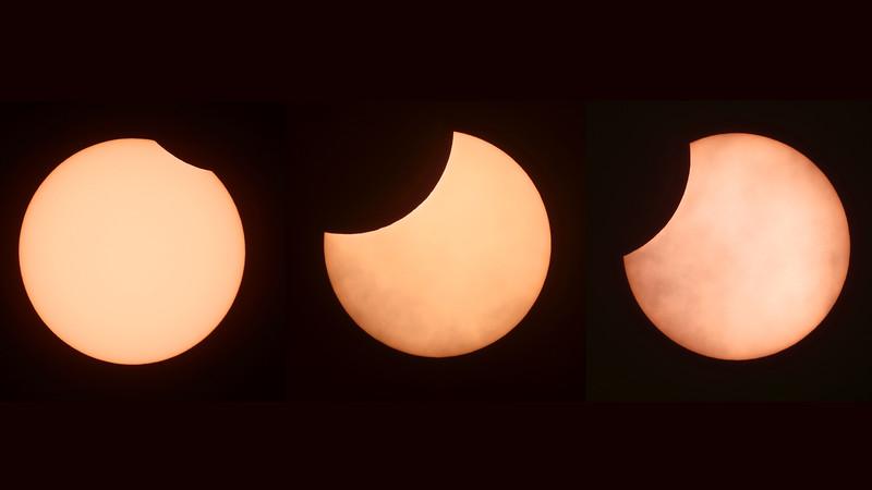 Parrial solar eclipse