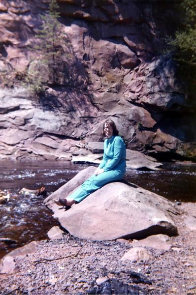 Joyce Phillips Near Lake Superior