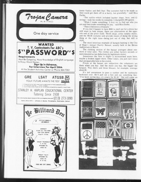 SoCal, Vol. 62, No. 110, April 26, 1971