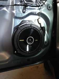 2010 Subaru Forester 2.5x base Front And Rear Speaker Installation - USA