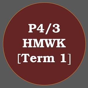P4/3 HMWK T1