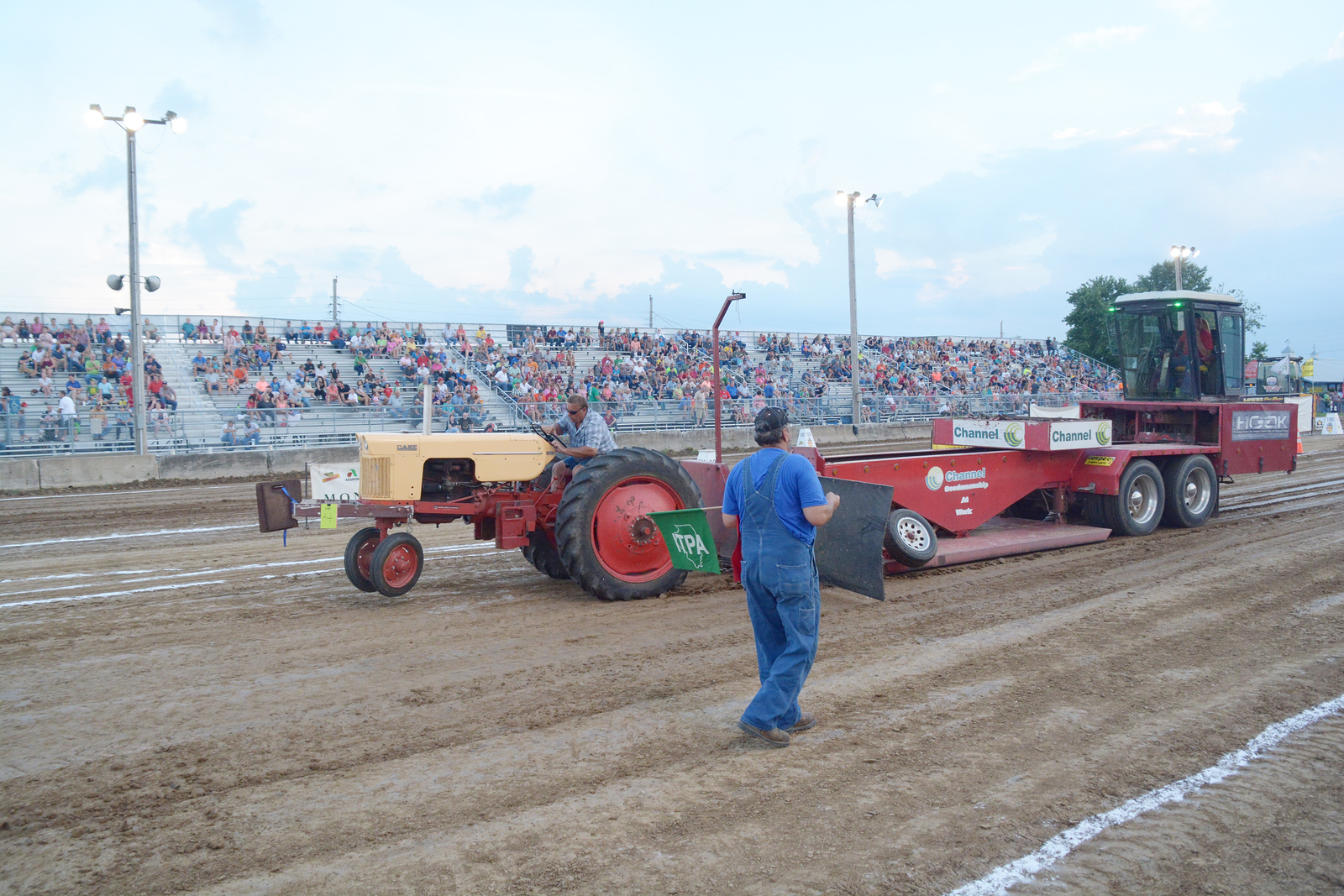 Monroe County Fair's Tractor Pulls