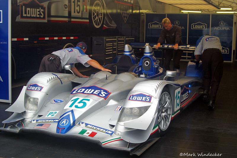P2-Lowe's Fernandez Racing Acura ARX-01 b