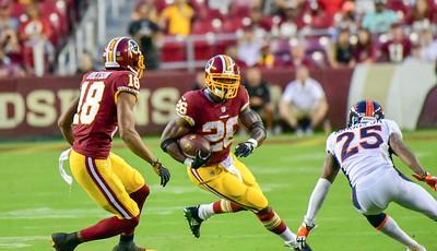 Football: Washington Redskins vs. Denver Broncos 8.24.2018 (By Al Shipman)