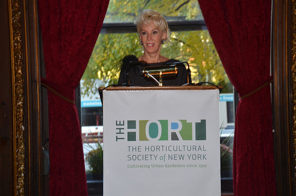 Oct 29, 2013-Horticultural Society of New York Annual Fall Luncheon