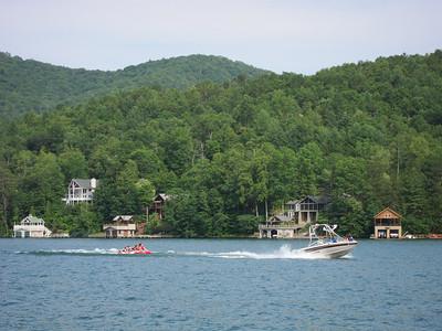 lake Burton Boating Youth