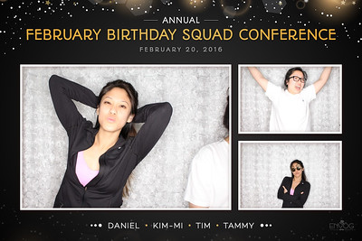 February Bday Squad Conference (prints)