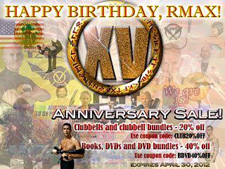 Happy Birthday, RMAX