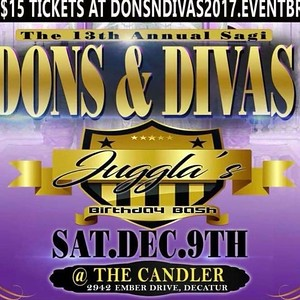 PART 2. DONS & DIVAS DJ JUGGLA'S BDAY BASH 2017