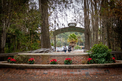 Entrance Fountain at Silver Springs State Park