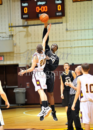 Governor Mifflin VS Berks Catholic Boys Basketball 2011 - 2012