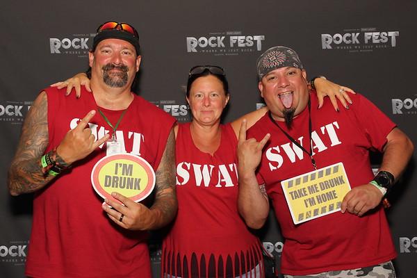 Rock Fest 2021 SATURDAY 7-17-21 VIP TENT IMAGES